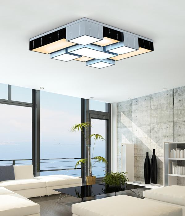 LED 카오스 거실등 [200W, 리모컨포함]