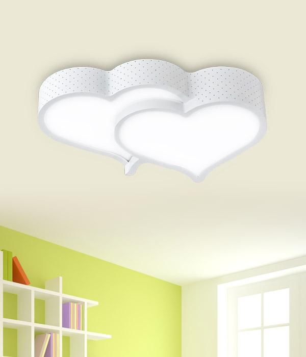 LED 러블리 하트 방등 50W [화이트]